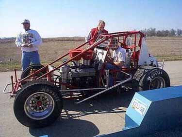 Association Auto  National Racing Stock Tire on Present Day Sprint Car Frame  Chromemoly